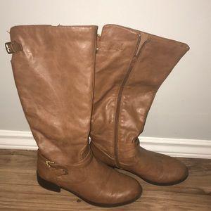 Shoes - Women's tan riding boots